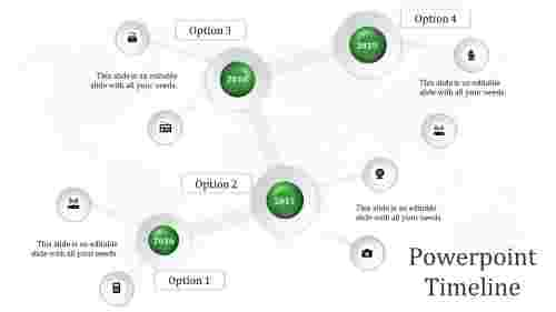 Network PowerPoint Timeline
