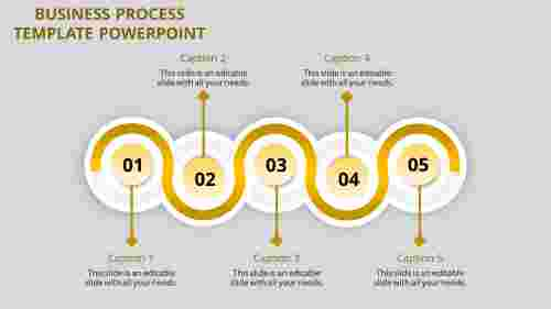 business process template powerpoint-business process template powerpoint-yellow-5