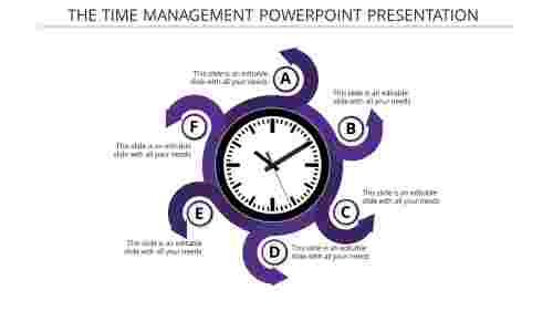 management powerpoint presentation-the time management powerpoint presentation-purple