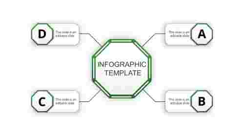 infographic template ppt-infographic template-green-4