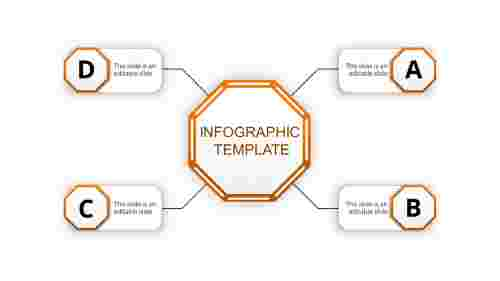 infographic template ppt-infographic template-orange-4