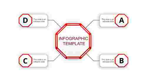 infographic template ppt-infographic template-red-4