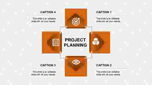 project planning ppt presentation-project planning-orange