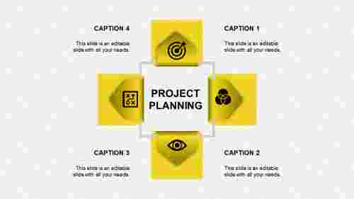project planning ppt presentation-project planning-yellow