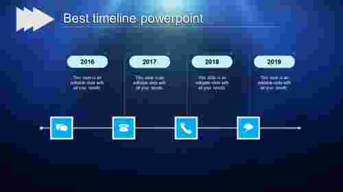 best timeline powerpoint-best timeline powerpoint-blue