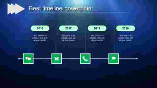 best timeline powerpoint-best timeline powerpoint-green