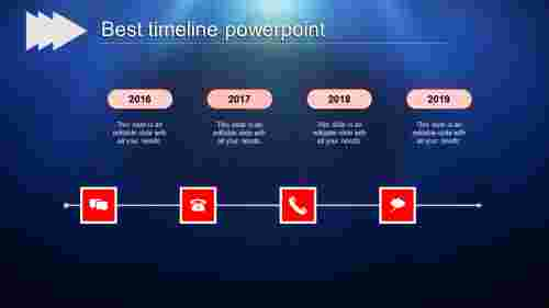 best timeline powerpoint-best timeline powerpoint-red