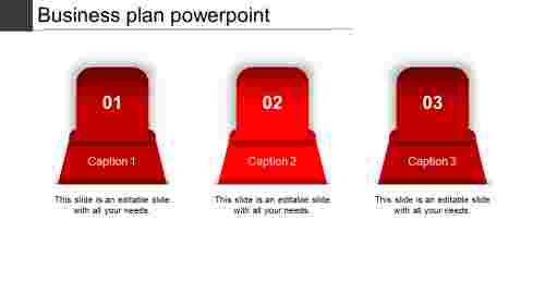 business plan powerpoint-business plan powerpoint-red