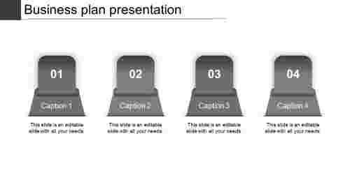 business plan presentation-business plan presentation-gray