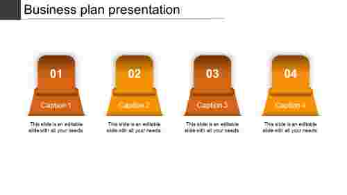 business plan presentation-business plan presentation-orange