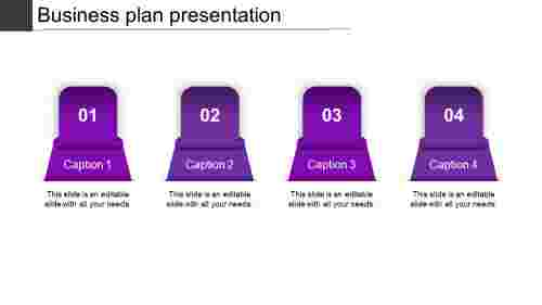 business plan presentation-business plan presentation-purple
