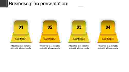 business plan presentation-business plan presentation-yellow