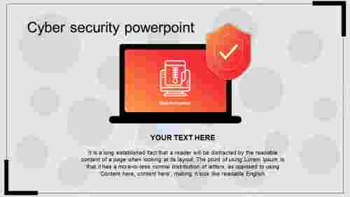 Cyber security powerpoint template presentation