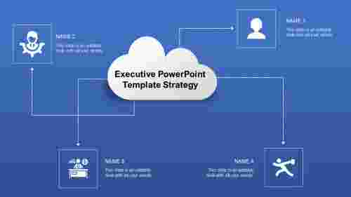 ExecutivepowerpointtemplateswithClouddesign