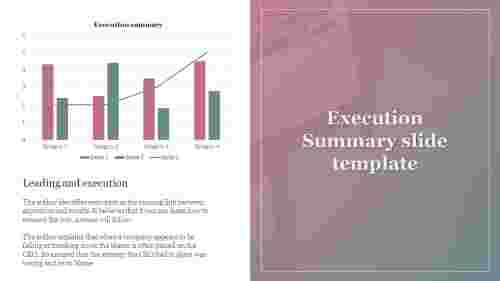 executive summary slide template ppt