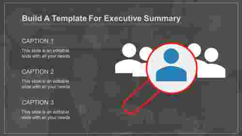 powerpoint template for executive summary