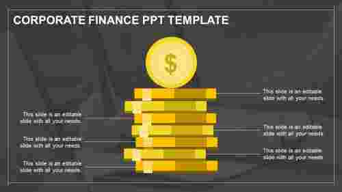 Finance PowerPoint Template- Dollar