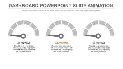 Speed dashboard powerpoint slide animation