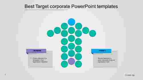 A two noded best corporate powerpoint templates