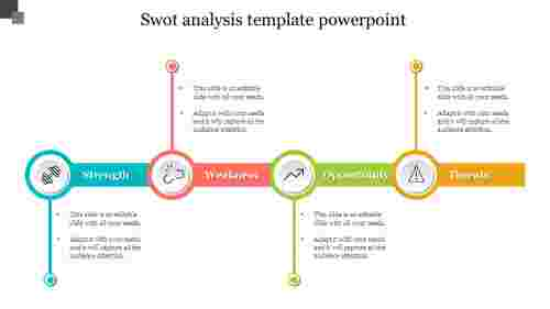 solvable SWOT Analysis Template PowerPoint