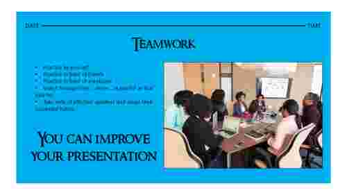 A one noded teamwork presentation powerpoint