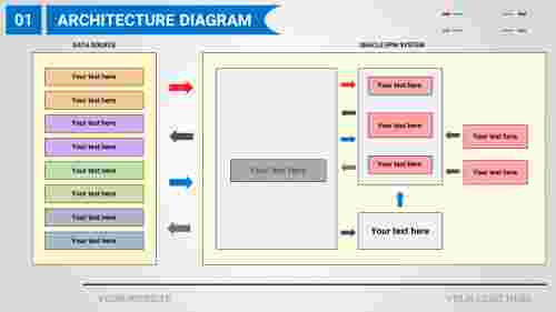 A two noded Hyperion planning architecture diagram PPT