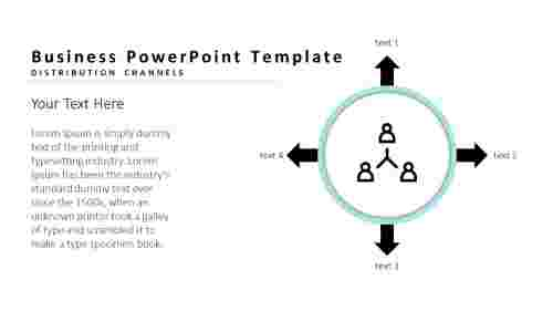 Business PowerPoint templates-four types
