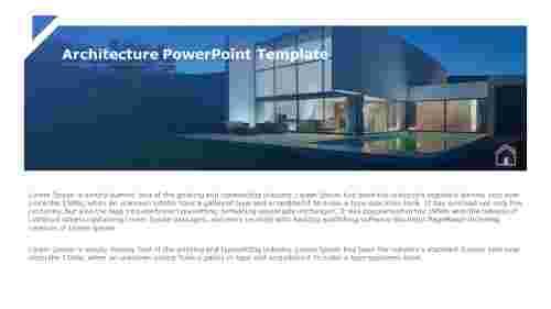 Architecture PowerPoint Presentation template