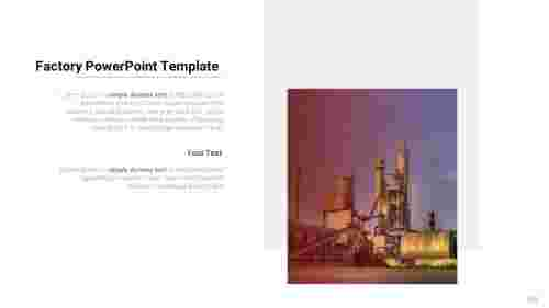 AboutfactoryPowerPointtemplate