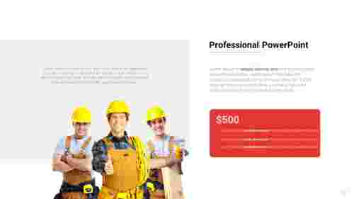Professional PowerPoint Template for presentation