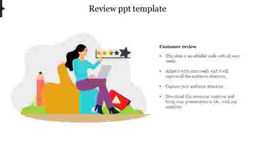 CustomerreviewPPTtemplate
