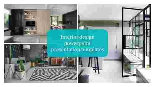 Portfolio Interior design PowerPoint presentation templates