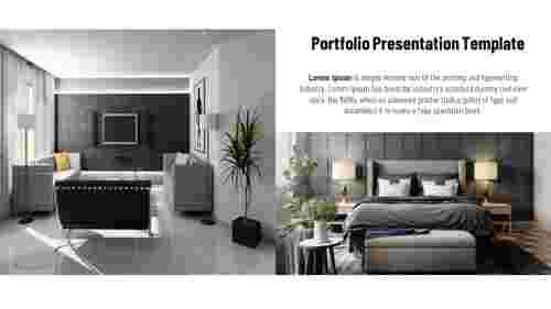 Portfolio PowerPoint presentation template