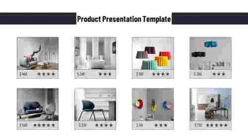 Sales product presentation template