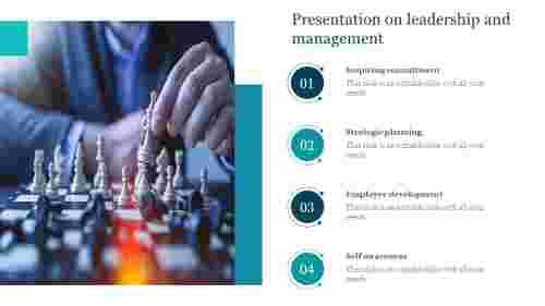 PresentationonleadershipandmanagementPPTTemplate