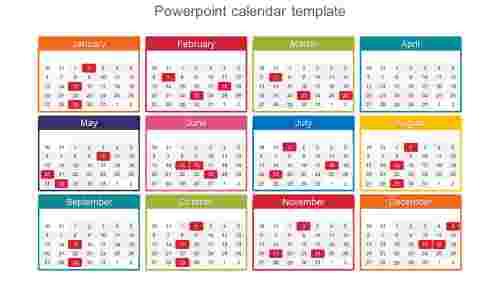 BestPowerPointcalendartemplate