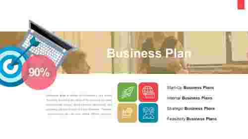 Best business plan PowerPoint - Four business plan