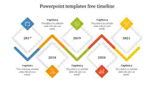 Best PowerPoint templates free timeline