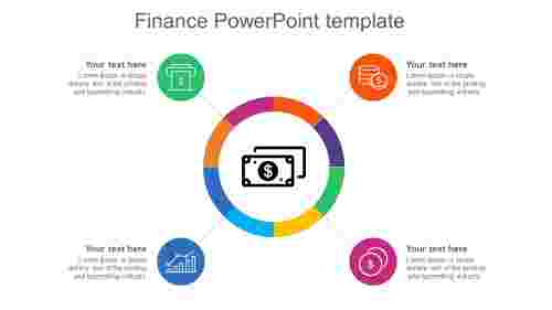 Finance PowerPoint template - Account Receivable