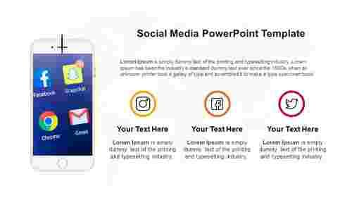 SimpleSocialmediaPowerPointtemplate