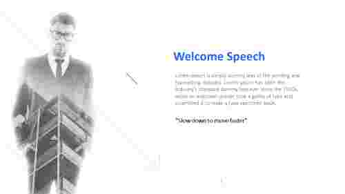 Welcome%20Speech%20For%20PPT%20Presentation%20With%20Businessman%20Image
