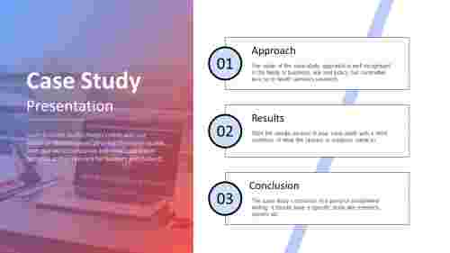 Best case study presentation template