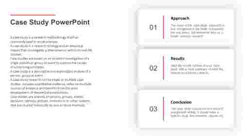 Case study PowerPoint presentation