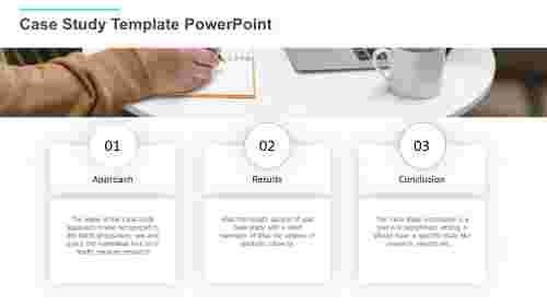 Case study template PowerPoint