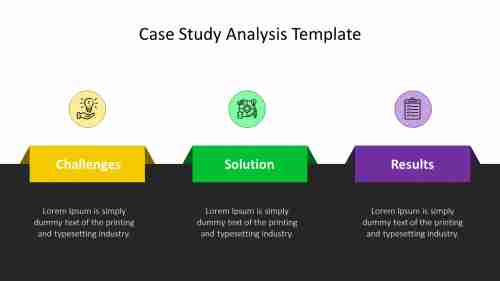 PowerPoint case study analysis template