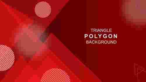 TrianglepolygonbackgroundinPowerPoint