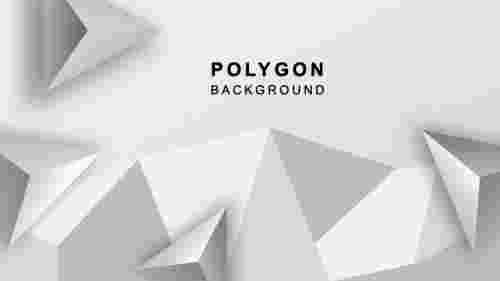 TrianglepolygonalbackgrounddesigninPowerPoint