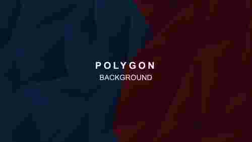 PolygonalabstractbackgroundinPowerPoint