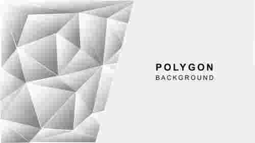 Grayabstractpolygonalbackgroundtheme
