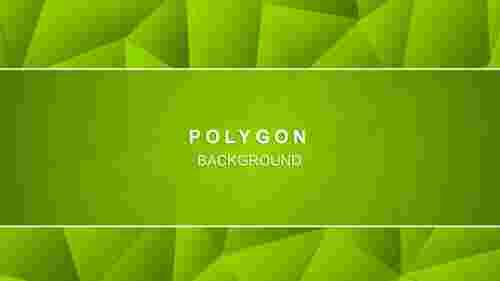 Greenpolygonalabstractbackgrounddesign